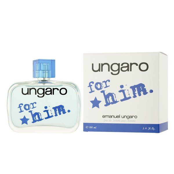 Ungaro Emanuel Ungaro for him. Eau De Toilette 100 ml
