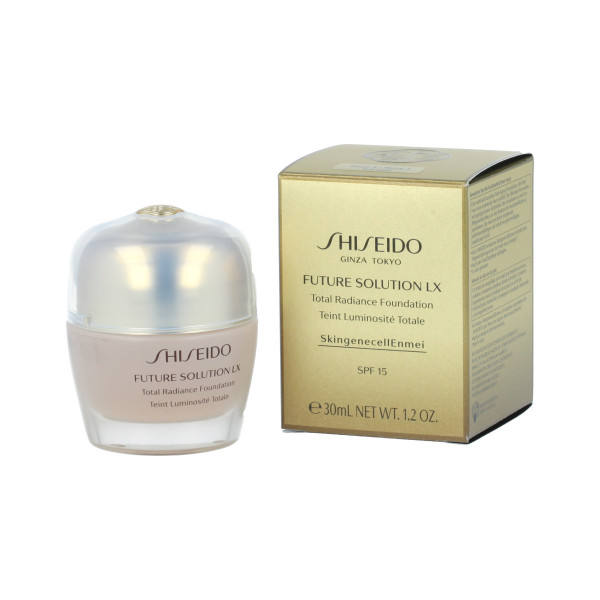 Shiseido Future Soultion LX Total Radiance Foundation SPF 15 (R03 Rose) 30 ml