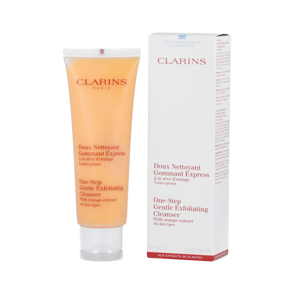Clarins One-Step Gentle Exfoliating Cleanser with Orange Extract 125 ml