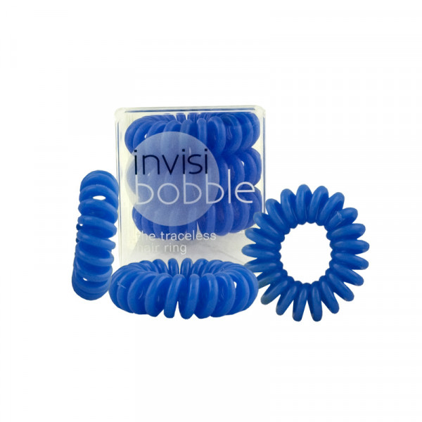 Invisibobble Navy Blue - Haargummi - 3 Stück