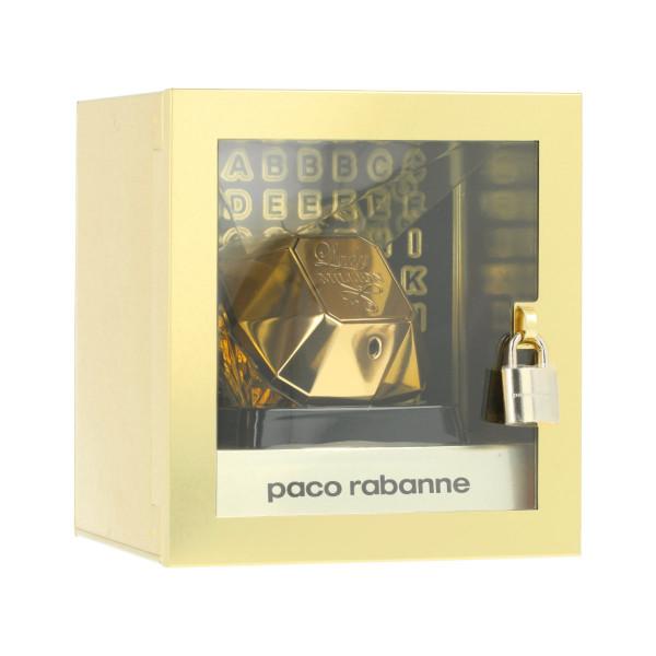 Paco Rabanne Lady Million EDP 80 ml + Buchstaben Aufkleber