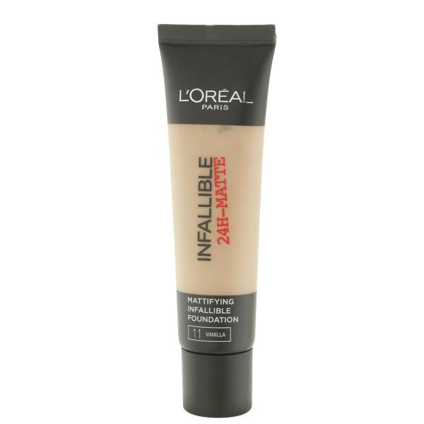 L'Oréal Paris Infallible 24H-Matte make-up (11 Vanilla) 30 ml