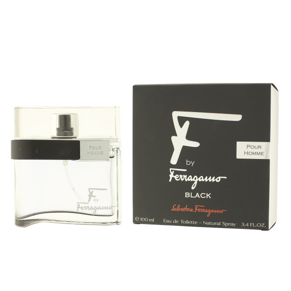Salvatore Ferragamo F by Ferragamo Black Eau De Toilette 100 ml