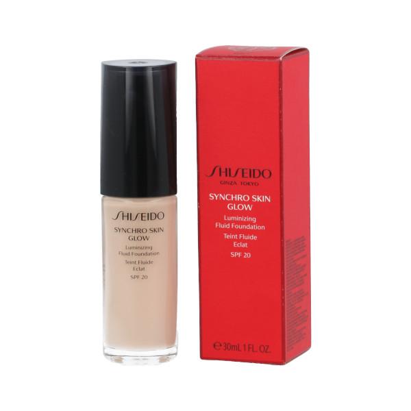 Shiseido Synchro Skin Glow Luminizing Fluid Foundation SPF 20 (Rose 1) 30 ml