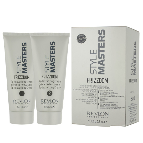 Revlon Style Masters Frizzdom Set: 1 Re-Texturizing Cream 150 ml+ 2 Re-Texturizing Cream 150 ml