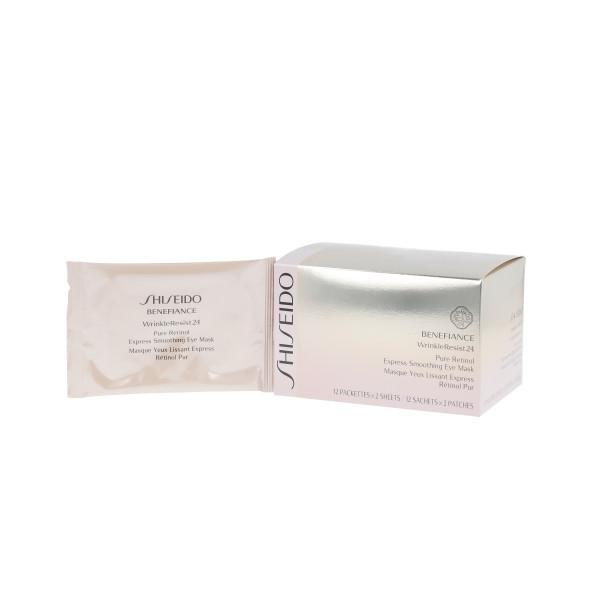 Shiseido Benefiance WrinkleResist24 Pure Retinol Express Smoothing Eye Mask 12 Stück