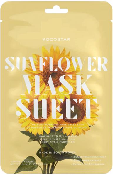Kocostar Slice Mask Sheet Sunflower 20 ml