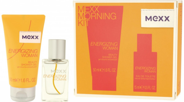 Mexx Energizing Woman EDT 15 ml + SG 50 ml