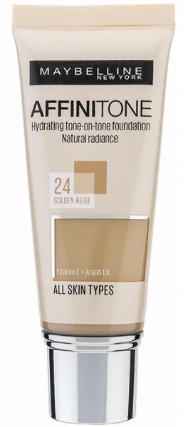 Maybelline Affinitone Unifying Foundation Cream (24 Golden Beige) 30 ml