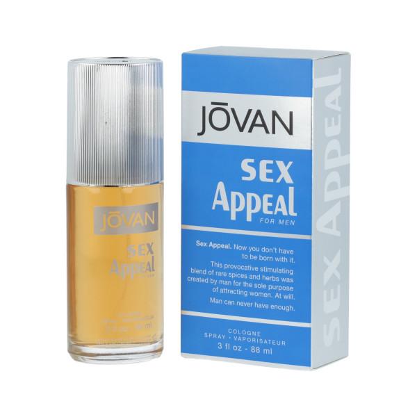 Jovan Sex Appeal Eau de Cologne 88 ml