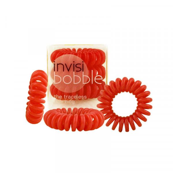 Invisibobble Raspberry Red - Haargummi - 3 Stück