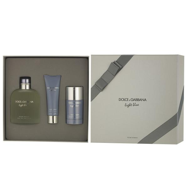 Dolce & Gabbana Light Blue pour Homme EDT 200 ml + DST 75 ml + SG 50 ml