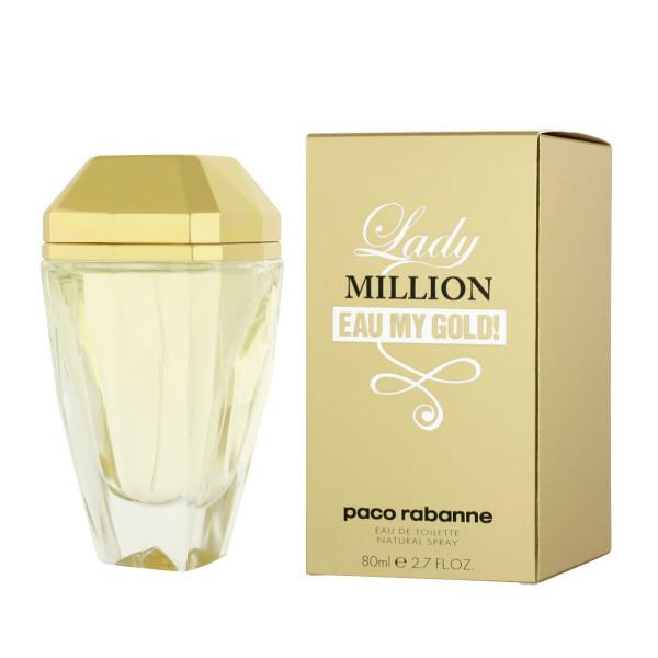 Paco Rabanne Lady Million Eau My Gold! Eau De Toilette 80 ml