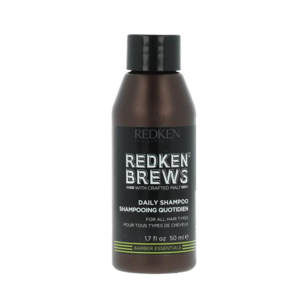 Redken Brews Daily Shampoo 50 ml