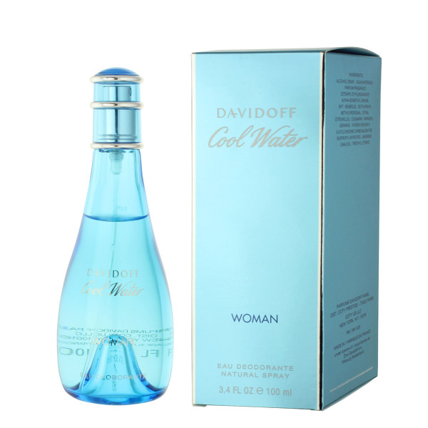 Davidoff Cool Water for Women Deodorant VAPO 100 ml
