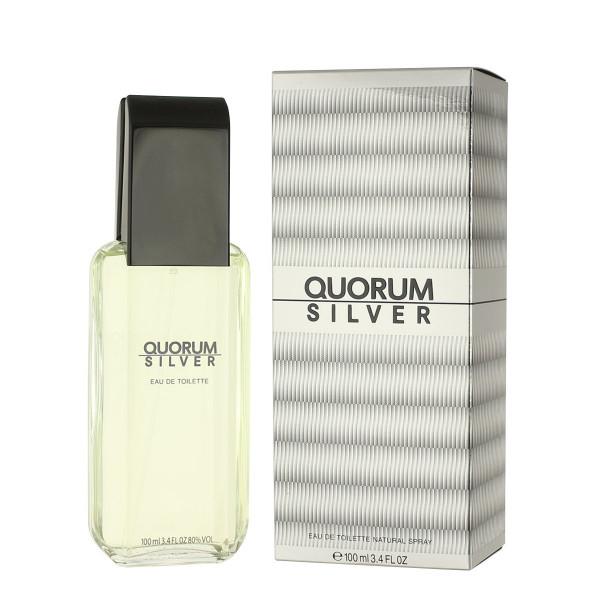 Antonio Puig Quorum Silver Eau De Toilette 100 ml