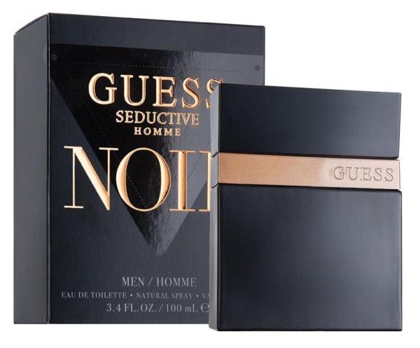 Guess Seductive Homme Noir Eau De Toilette 100 ml