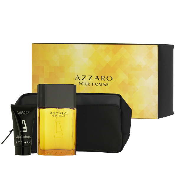 Azzaro Pour Homme EDT 100 ml + Hair & Body Shampoo 50 ml + Kosmetiktasche