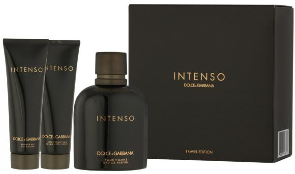 Dolce & Gabbana Pour Homme Intenso EDP 125 ml + ASB 50 ml + SG 50 ml