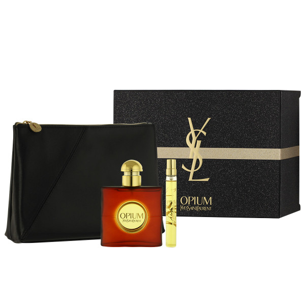 Yves Saint Laurent Opium 2009 EDT 50 ml + EDT 10 ml + Cosmetic bag
