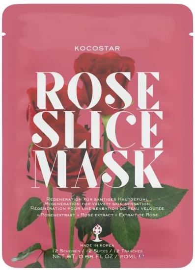 Kocostar Slice Mask Sheet Rose 20 ml