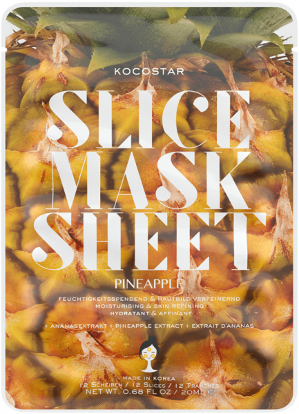 Kocostar Slice Mask Sheet Ananas 20 ml