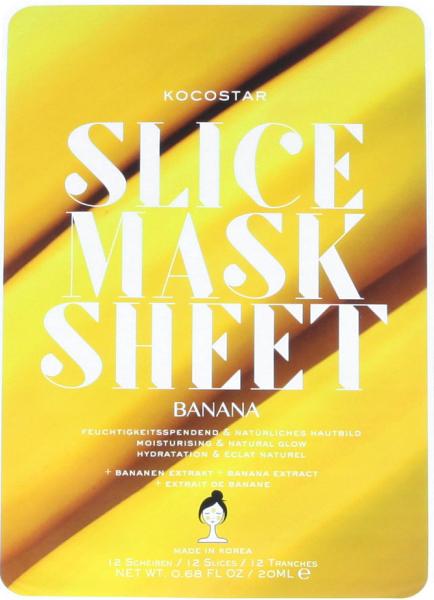 Kocostar Slice Mask Sheet Banana 20 ml
