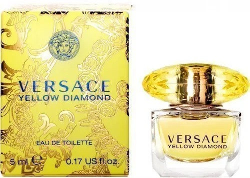 Versace Yellow Diamond Eau De Toilette 5 ml