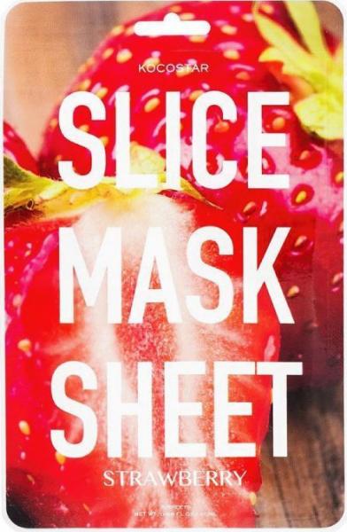 Kocostar Slice Mask Sheet Strawberry 20 ml