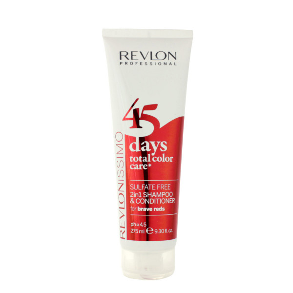 Revlon Revlonissimo 45 Days Total Color Care 2in1 Shampoo & Conditioner For Brave Reds 275 ml