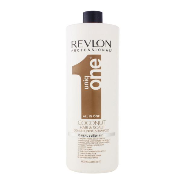 Revlon Uniq One Hair & Scalp Coconut All in One Conditioning Shampoo 1000 ml