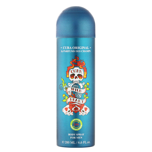 Cuba Wildheart Deodorant VAPO 200 ml