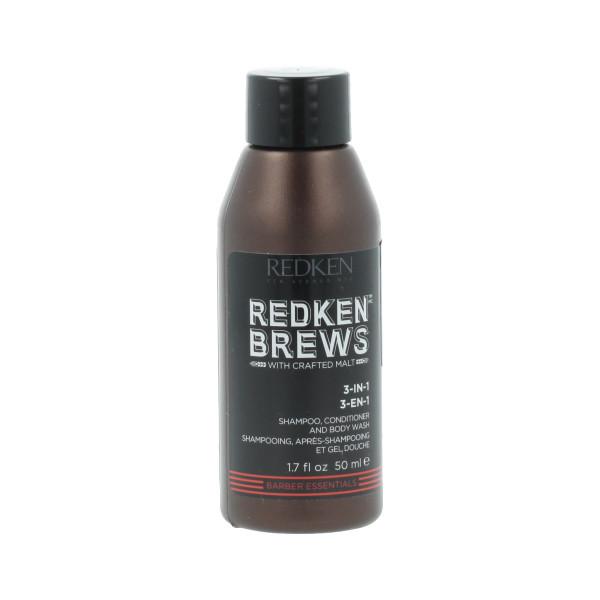 Redken Brews Extra Clean Shampoo 50 ml