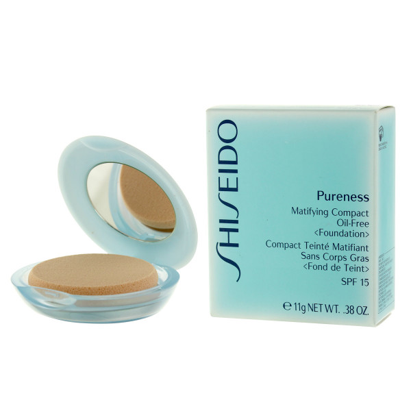 Shiseido Pureness Matifying Compact Oil-Free Foundation SPF 15 (10 Light Ivory) 11 g