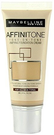 Maybelline Affinitone Unifying Foundation Cream (09 Opal Rose) 30 ml