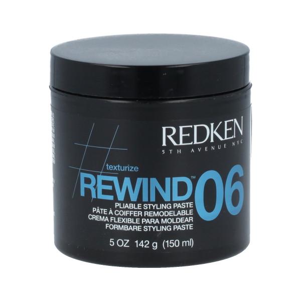 Redken Rewind 06 Pliable Styling Paste 150 ml