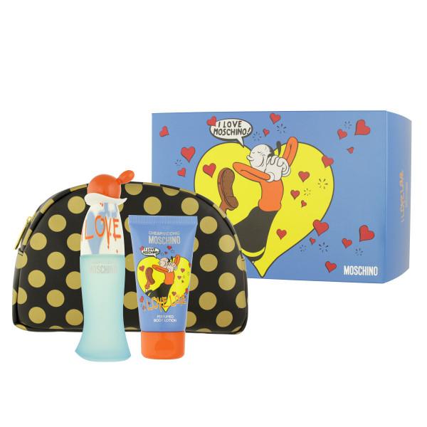 Moschino Cheap & Chic I Love Love EDT 50 ml + BL 50 ml + Kosmetiktasche