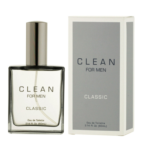 Clean For Men Classic Eau De Toilette 60 ml