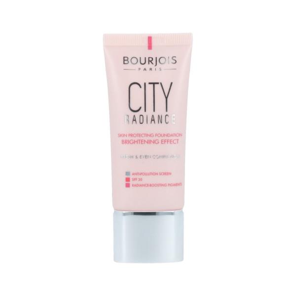 Bourjois Paris City Radiance Foundation SPF 30 (01 Rose Ivory) 30 ml