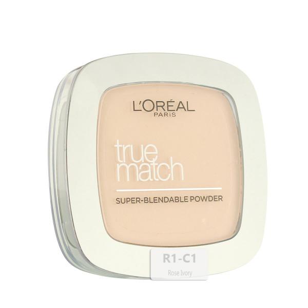 L'Oréal Paris True Match Super-Blendable Powder (R1/C1 Rose Ivory) 9 g