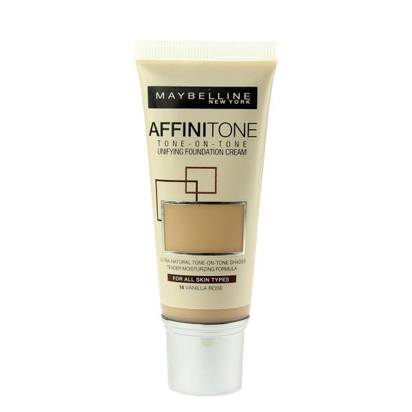Maybelline Affinitone Unifying Foundation Cream (16 Vanilla Rose) 30 ml
