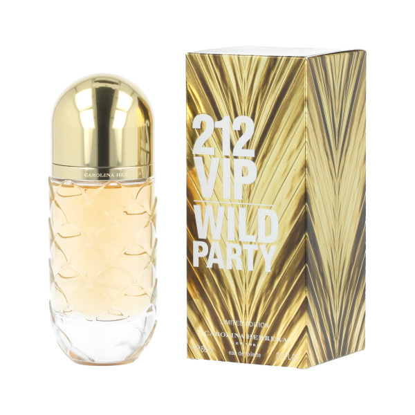 Carolina Herrera 212 VIP Wild Party Eau De Toilette 80 ml