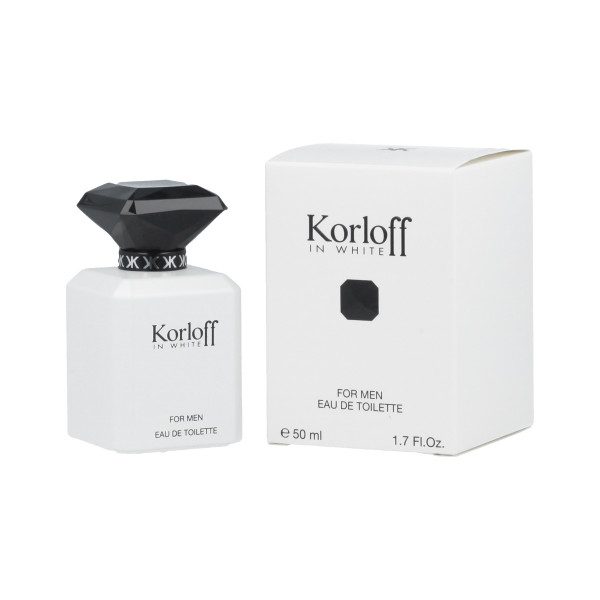 Korloff In White For Men Eau De Toilette 50 ml